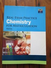 SAP - Chemistry (Real Exam Practice for Matriculation) SK016