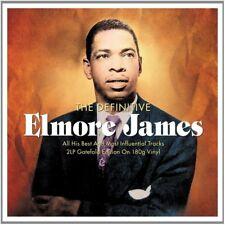 THE DEFINITIVE ELMORE JAMES - 2 LP GATEFOLD SET - VINYL