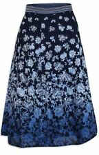 Marks and Spencer Calf Length Casual Floral Skirts for Women