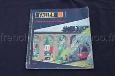 E115 Ancien catalogue train Faller Ho 841/F Paysages ferroviaires en miniature