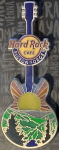 Hard Rock Cafe PIGEON FORGE 2021 Smoky Mountains Sunset Guitar PIN New on Card