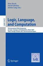 Logic, Language, and Computation : 7th International Tbilisi Symposium on...