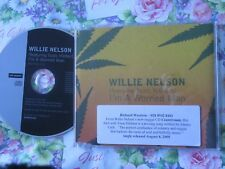 Willie Nelson - I'm a Worried Man WNWORRYCDP1  UK Promo CD Single