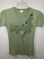 """Wicked Women's """"Green For Good"""" Tee T-Shirt Size Small S"""