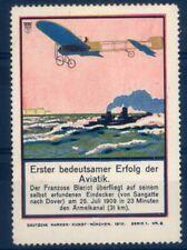 """Aviation & Zeppelin Vignette: Vignette No. 8,Series 1, Der """" German M #2788"""