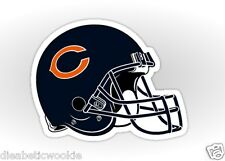 Chicago Bears helmet logo design Sticker decal car laptop