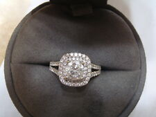 VERA WANG LOVE COLLECTION DIAMOND ENGAGEMENT RING 2.0 CT- 1 CT W/RECEIPT (#1)