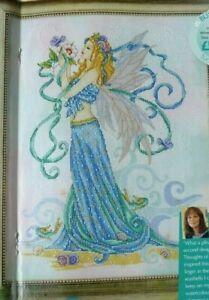 Joan Elliott's Stunning Beaded Summer Fairy Seasonal Series Cross Stitch Chart
