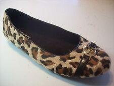 Michael Kors Fulton Gia Cheetah Leopard Loafers Flats Shoe Size Girls 5 Womens 7