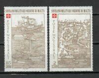 S23505) Smom 1980 MNH Siege Di Rodi (1^) 2v