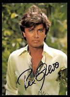 Rex Gildo Autogrammkarte Original Signiert ## BC 53109