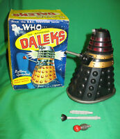 Very rare: BOXED and WORKING Marx Dalek from 1965.  Doctor Who. % to charity do!
