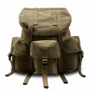 WW2 US ARMY M14 M1961 Backpack Canvas Backpack khaki