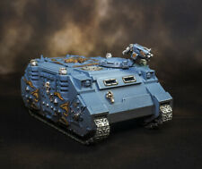 Warhammer 40K Rhino Painted with Wolves Knights upgrade bits Space Wolves 40K