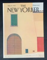 COVER ONLY ~ The New Yorker Magazine, July 23, 1984 ~ Gretchen Dow Simpson