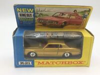 Matchbox Kingsize K-21 Mercury Cougar In Its Original Box - Near Mint Vintage
