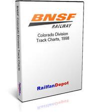 BNSF Colorado Division Track Chart 1998 - PDF on CD - RailfanDepot