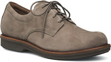 Men's Dansko Jasper Josh Slip Resistant LaceUp Shoe Taupe Milled Nubuck Leather