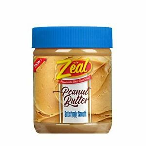 Zeal Peanut Butter, Satisfyingly Smooth, 340g