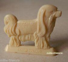 Figurine publicitaire Beurre PREMIER - Collection Les CHIENS : BICHON MALTAIS