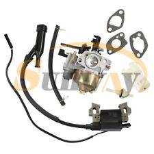 Carburateur + Bobine D'allumage pour Honda GX110 GX120 GX140 GX160 GX200 Moteur