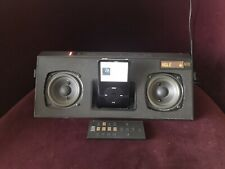 ALTEC LANSING iMT620 Classic Portable iPod FM AUX Dock IN MOTION