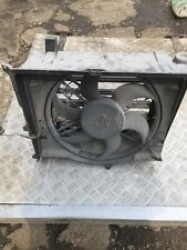 BMW e46 320d Radiator cooling fan and housing