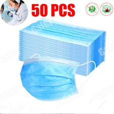 50 pcs 3 Layers Medical Copertina Protettiva Copertina Per Bocca Filtro IT #it