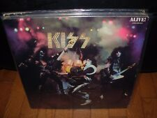 KISS alive ( rock ) 2lp reissue BOOKLET