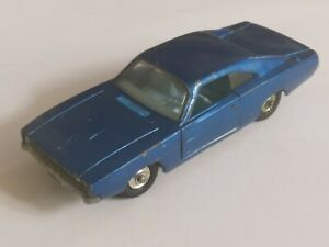 SCARCE 1969 ONLY MATCHBOX LESNEY KING SIZE K-22 DODGE CHARGER, VERY GOOD COND