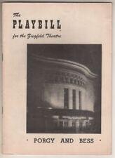 "Leontyne Price & Cab Calloway  ""Porgy and Bess""   Playbill  1953"