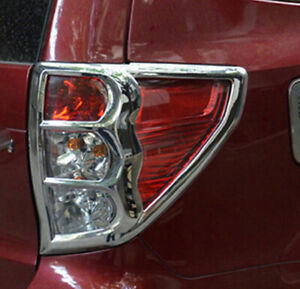 For Subaru Forester 2009 2010 2011 2012 Chrome Rear Tail Light Lamp Cover Trim