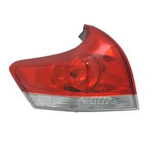 TO2804109C New Replacment Driver Side Outer Tail Light Assembly