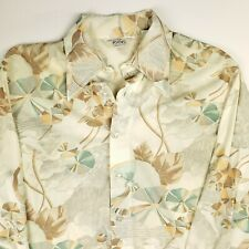 New listing Vintage 1970s Career Club Focus Poly Disco Shirt Floral Funky Gorgeous