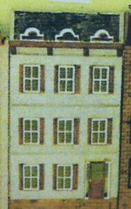Dollhouse Kit 1/144 Scale - Rowhouse #811
