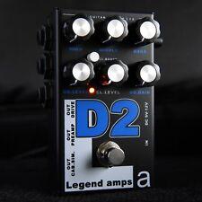 AMT Electronics Legend Amps 2 D2 2-Channel JFET Guitar Preamp / Distortion Pedal