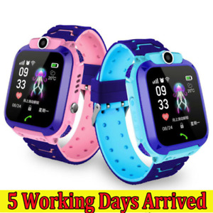 Kids Smart Watch Camera GSM SIM SOS Call Phone Game Watches Boys Girls Gift UK