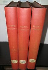 Emanuel Swedenborg De Rebus Naturabilus 3 Vols 1911 Occult Rare