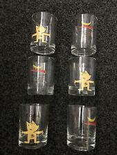 barcelona olympics 1992 Offical Set Of 6 Glasses