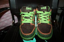Nike SB Dunk Low Size 10 De La Sol Safari Altitude Green Jedi Retro 789841-332