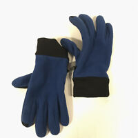 EMS Eastern Mountain Sport men's medium blue fleece winter gloves FREE SHIPPING