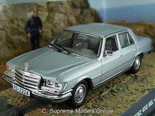 MERCEDES BENZ 450 SEL JAMES BOND MODEL CAR 1/43RD GREY COLOUR EXAMPLE T3412Z(=)
