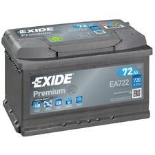 EXIDE EA722 Starterbatterie PREMIUM rechts