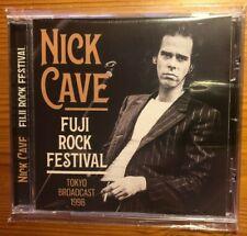 NICK CAVE CD live FUJI ROCK FESTIVAL Broadcast 1998, NEU,