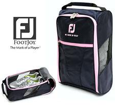 Genuine FOOTJOY Golf Shoes Bag Zipped Sports Bag Shoe Case (Pink Color x 1pcs)