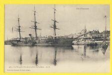 "cpa Bretagne 35 - SAINT MALO Le ""BOUGAINVILLE"" dans le Port Bateau Navire Boat"