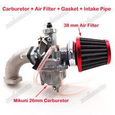 Mikuni 26mm Carburetor Air Filter For 110 125 140 cc Pit Dirt Bike SSR CRF50 YCF