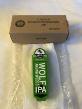 "Golden Road Brewing Wolf Among Weeds Ipa 5"" mini shotgun Beer Tap Handle L.A."
