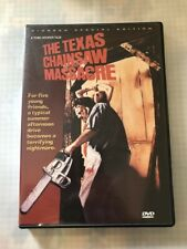 The Texas Chainsaw Massacre - Pioneer Special Edition DVD Region 1 english
