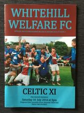 Scotland Away Team Champions League Football Programmes